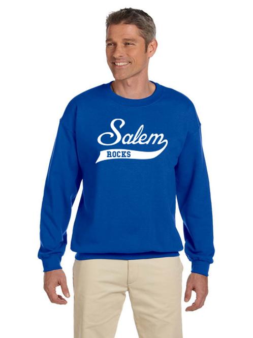 Salem Glitter G180 Adult Heavy Blend 50/50 Fleece Crew