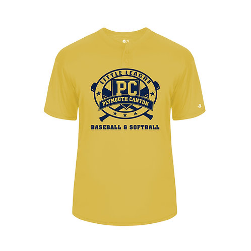 PCLL MAJORS TEAM 293000 Youth B-Core Placket