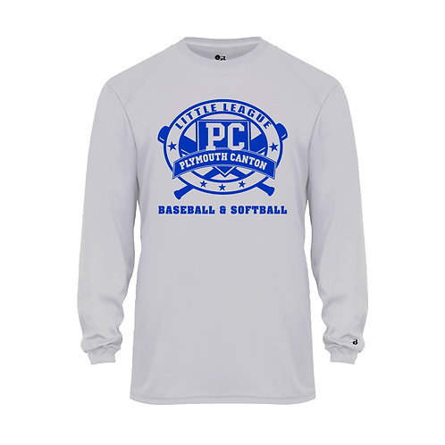 PCLL MACHINE PITCH TEAM 210400 Youth B-Core Long-Sleeve Tee