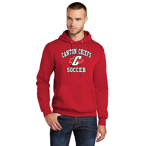 Canton Soccer PC78H Fleece Pullover Hooded Sweatshirt