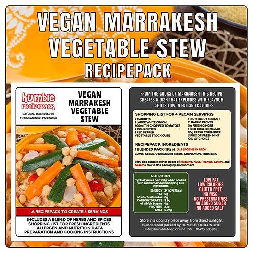 VEGAN MARRAKESH VEGETABLE STEW - RecipePack