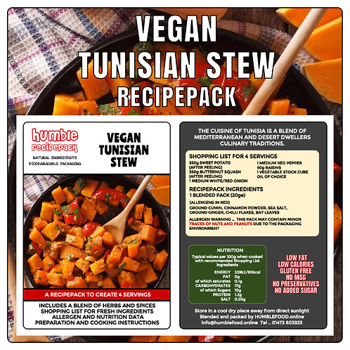 VEGAN TUNISIAN STEW - RecipePack