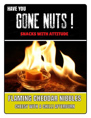 Flaming Cheddar Nibbles - 50g