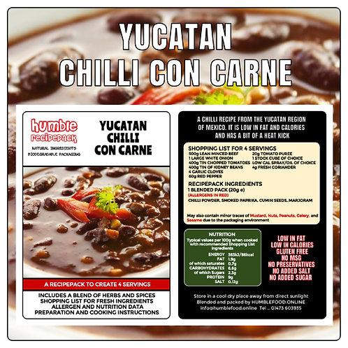 YUCATAN CHILLI CON CARNE - RecipePack