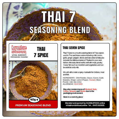 THAI 7 SPICE Seasoning Blend - 40g
