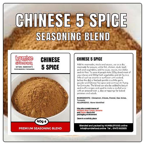 CHINESE 5 SPICE Seasoning Blend - 40g