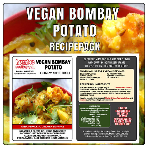 VEGAN BOMBAY POTATO - RecipePack