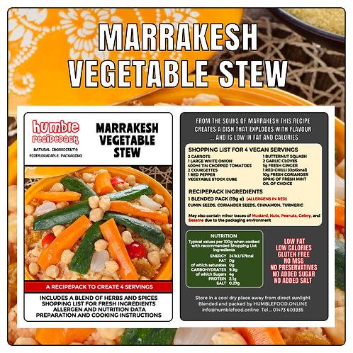 MARRAKESH VEGETABLE STEW - RecipePack