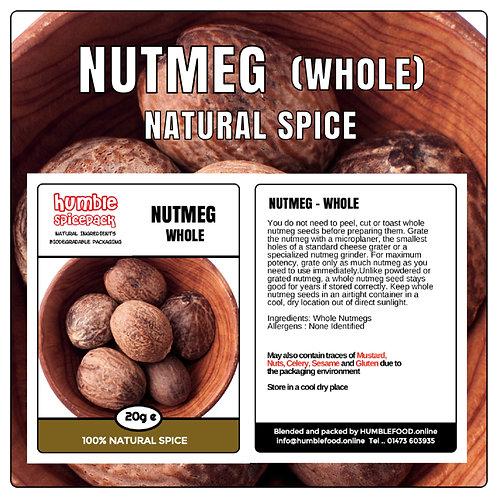 NUTMEG (Whole) - 20g