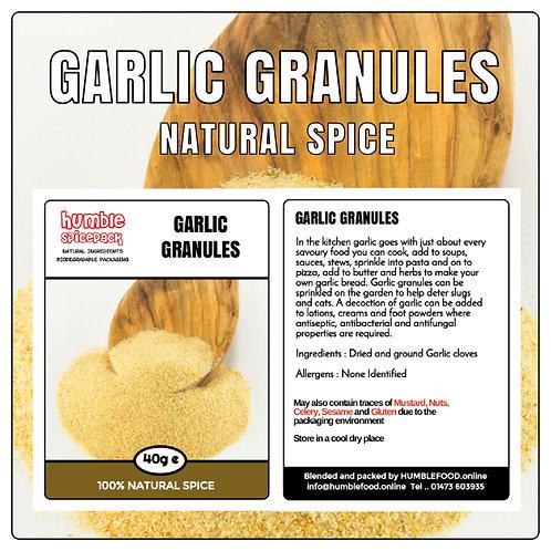 GARLIC GRANULES - 40g