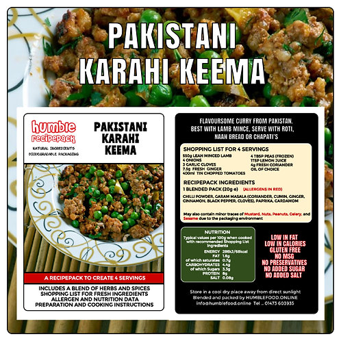 PAKISTANI KARAHI KEEMA - RecipePack