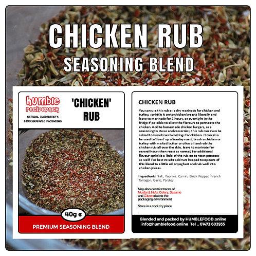 CHICKEN RUB Seasoning Blend - 40g