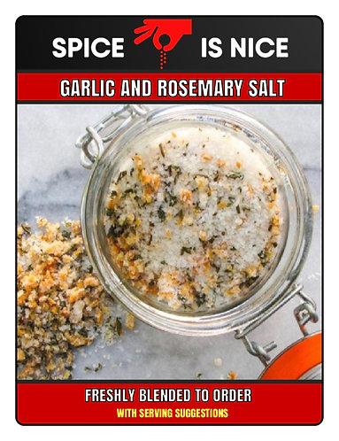 GARLIC AND ROSEMARY Premium Seasoning - 70g