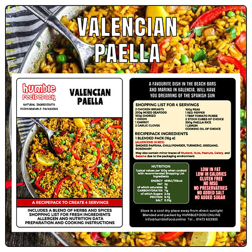 VALENCIAN PAELLA - RecipePack