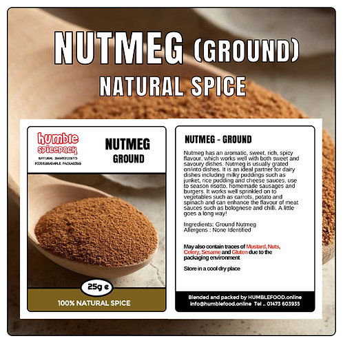 NUTMEG (Ground) - 25g