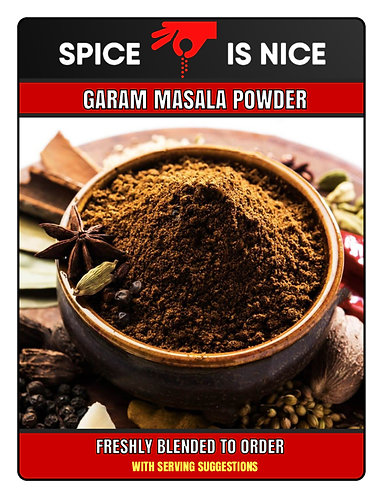 GARAM MASALA Premium Curry Powder - 70g