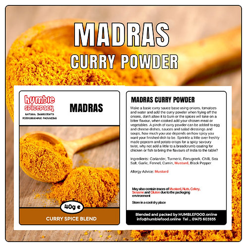 MADRAS Curry Powder Blend - 40g