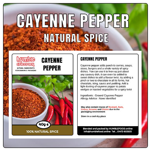 CAYENNE PEPPER - 40g
