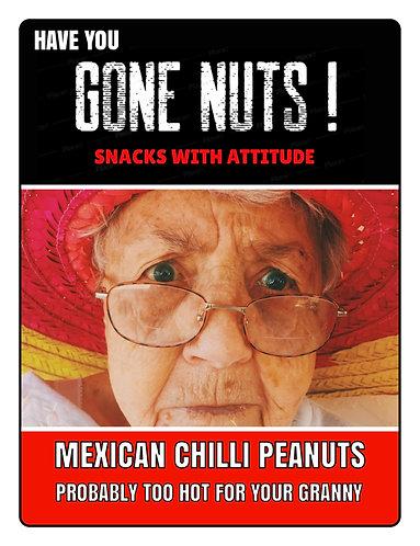 Mexican Chilli Peanuts - 60g