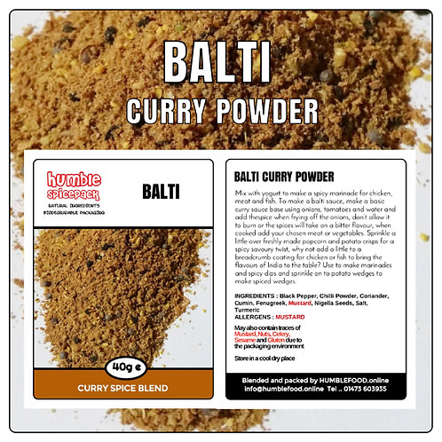 BALTI Curry Powder Blend - 40g