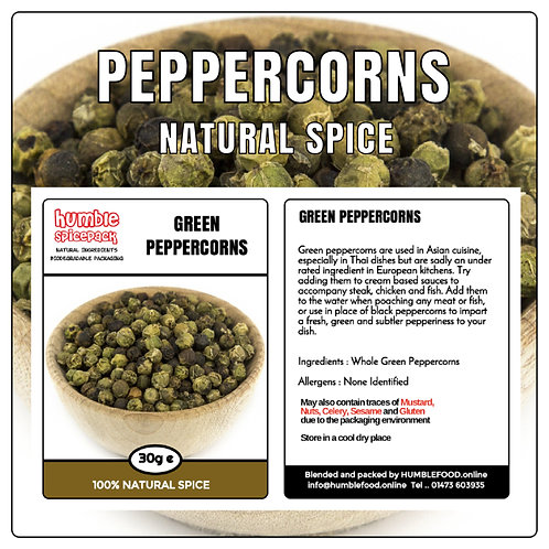 PEPPERCORNS (Green) - 35g