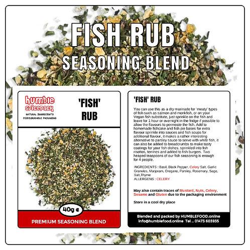 FISH RUB Seasoning Blend - 40g