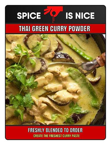 THAI GREEN Premium Curry Powder - 70g