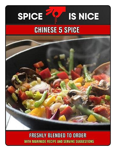 CHINESE 5 SPICE Premium Seasoning - 70g
