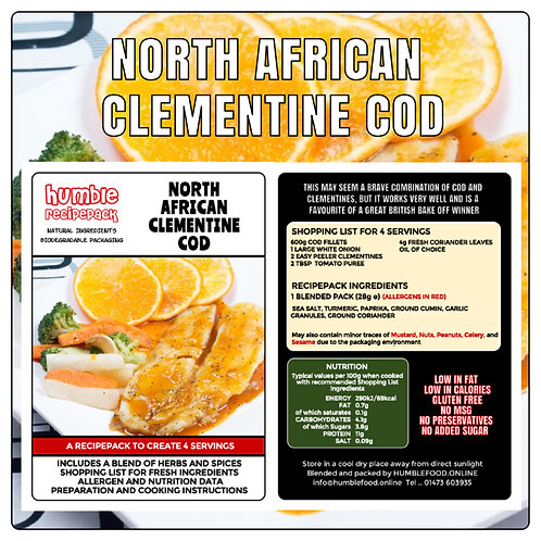 NORTH AFRICAN CLEMENTINE COD - RecipePack