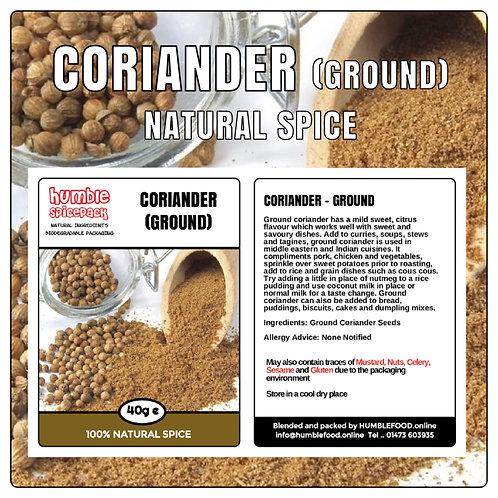 CORIANDER (Ground) - 40g