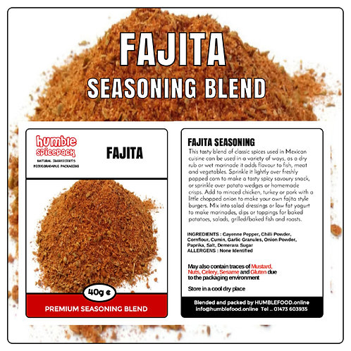 FAJITA Seasoning Blend - 40g
