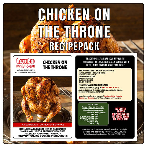 CHICKEN ON THE THRONE - RecipePack