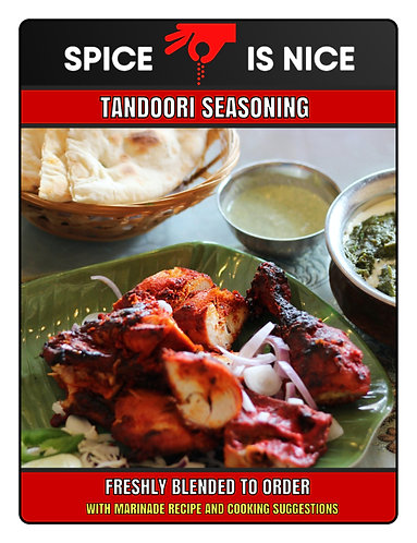 TANDOORI MASALA Premium Curry Powder - 70g