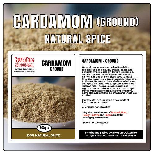 CARDAMOM (Ground) - 20g