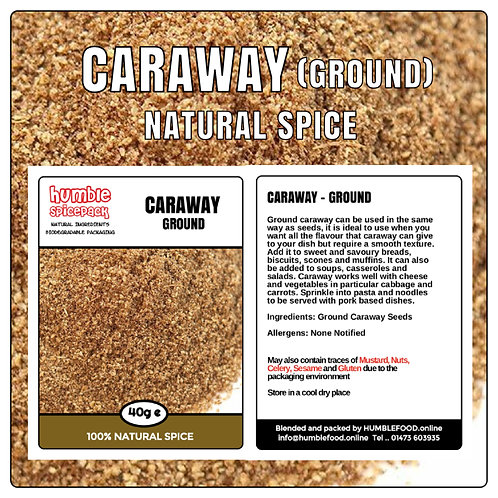 CARAWAY (Ground) - 40g