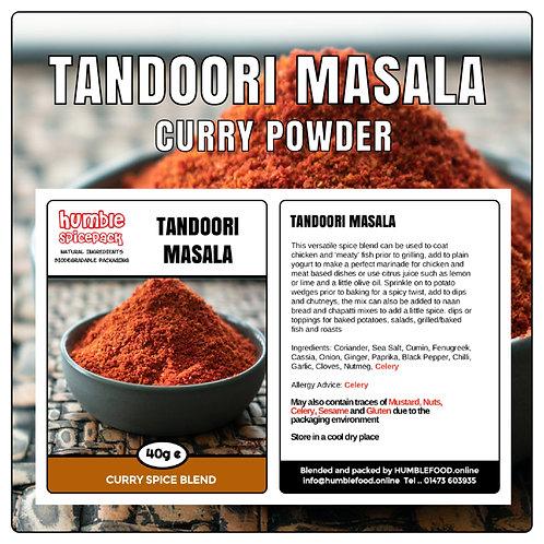 TANDOORI MASALA Curry Powder Blend - 40g
