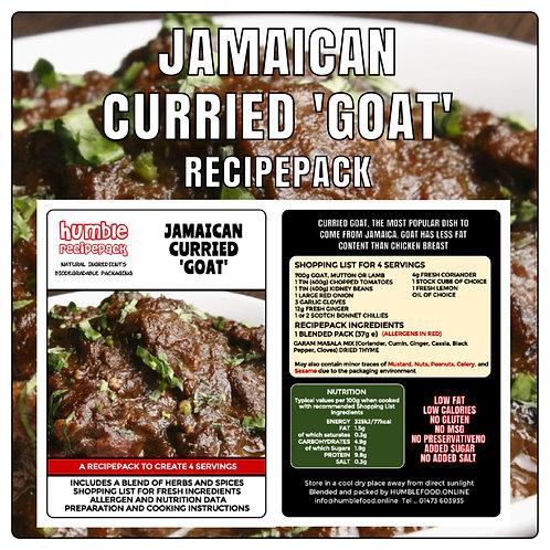 JAMAICAN CURRIED GOAT - RecipePack