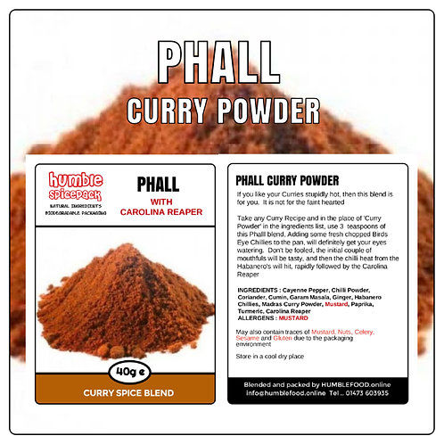 PHALL Curry Powder Blend - 40g
