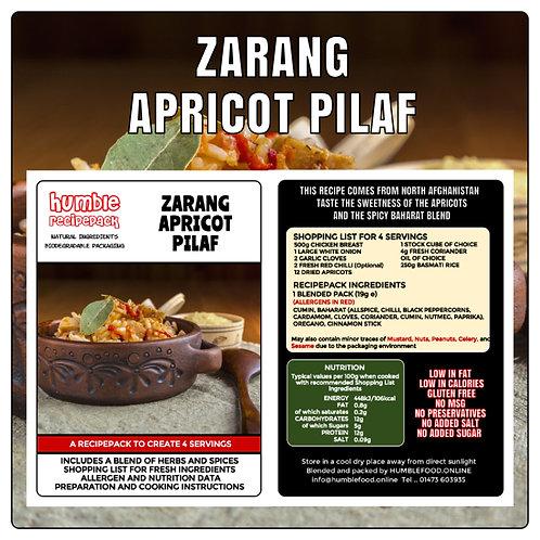 ZARANG APRICOT PILAF - RecipePack