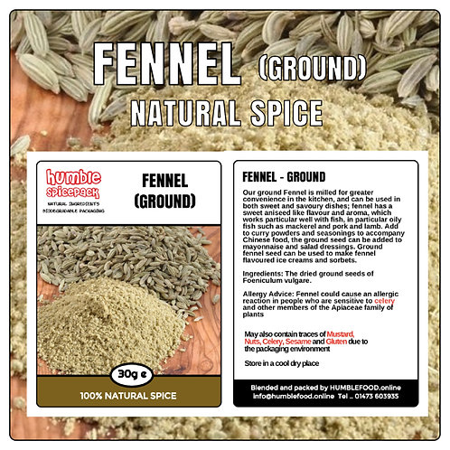 FENNEL (Ground) - 40g