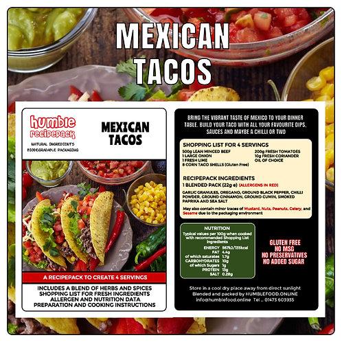 MEXICAN TACOS - RecipePack