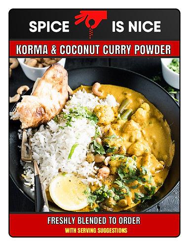 KORMA AND COCONUT Premium Curry Powder - 70g