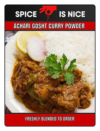 ACHARI GOSHT Premium Curry Powder - 70g