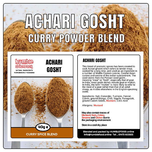 ACHARI GOSHT Curry Powder Blend - 40g