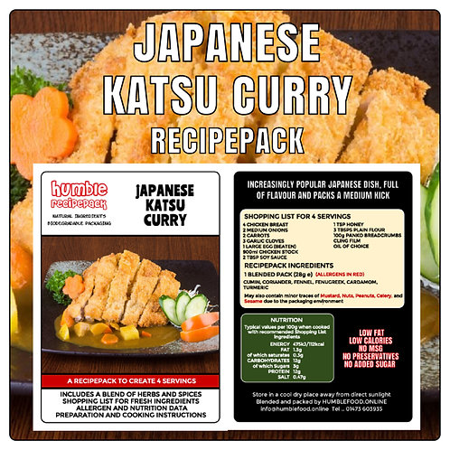 JAPANESE KATSU CURRY - RecipePack