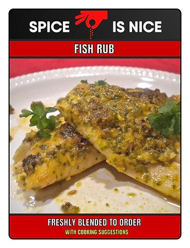 FISH RUB Premium Seasoning - 70g