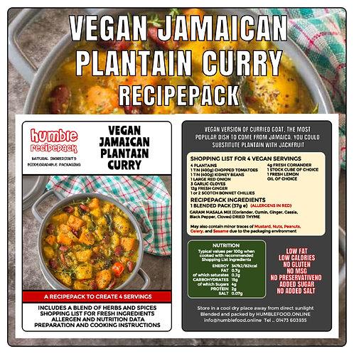 VEGAN JAMAICAN PLANTAIN CURRY - RecipePack