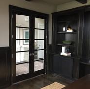 5 Lite Stained Poplar Door.JPG