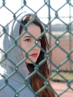Через забор