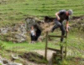 Derbyshire walk- jumping the stile